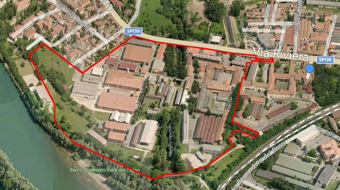 Pavia – area to be refurbished