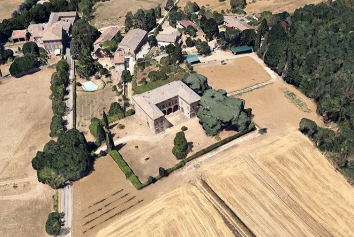 Siena – Villa Chigi Farnese
