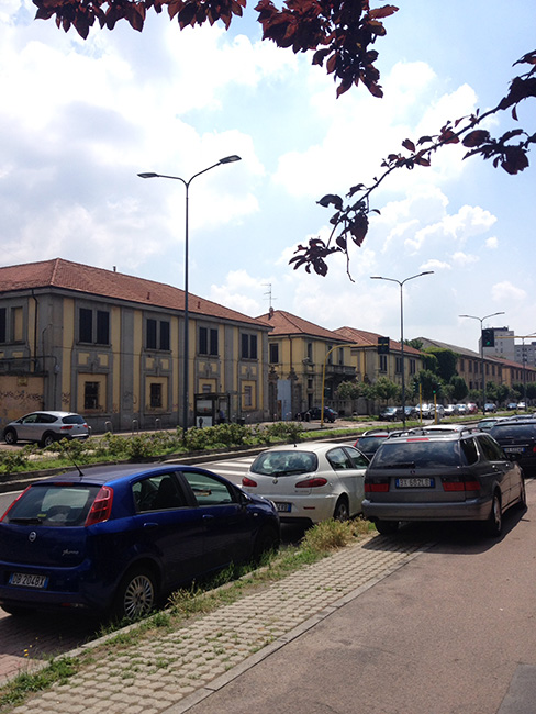 Milano – Piazza D'Armi area da valorizzare