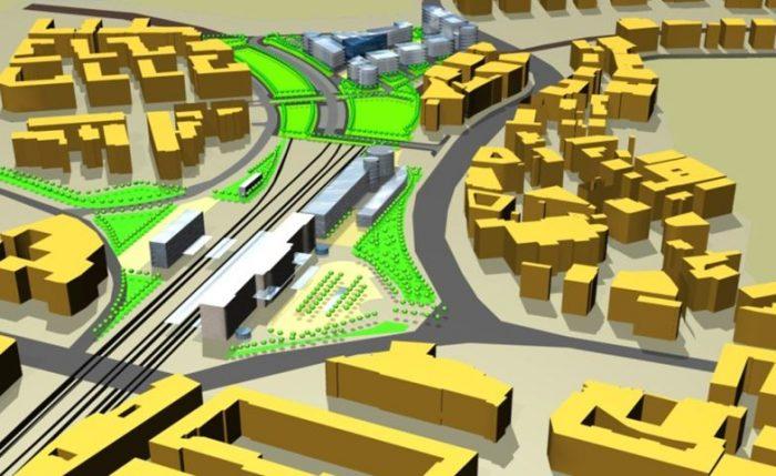 Roma Trastevere – area for redevelopment