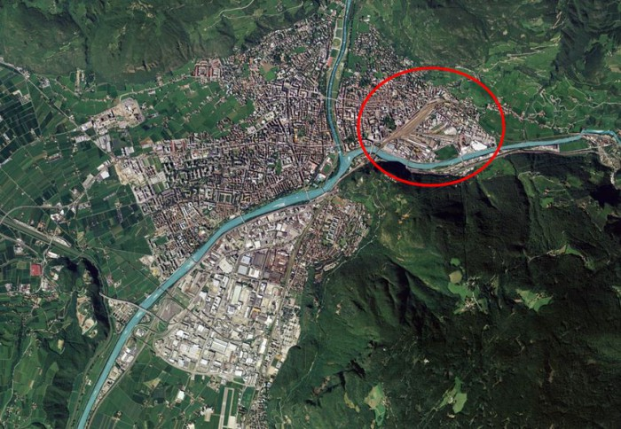 Bolzano – area for redevelopment