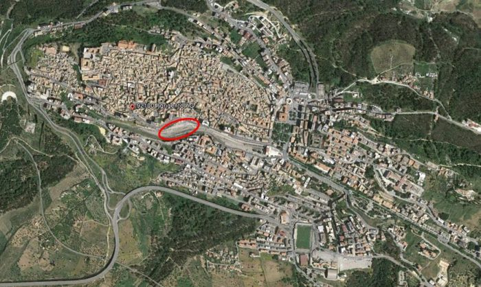 Agrigento – area to be developed