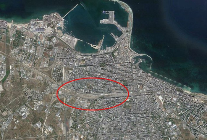 Bari – area for redevelopment