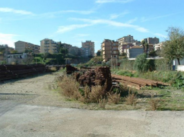 Caltagirone – area to be refurbished
