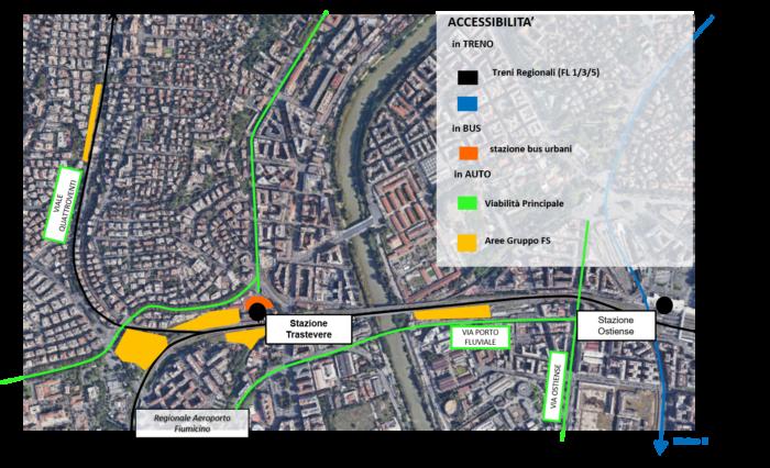 Roma Trastevere – Area da valorizzare