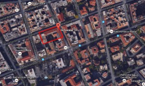 Roma – Immobile Via Toscana Pianta principale