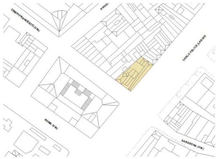 Cagliari – Palazzo Accardo floorplan