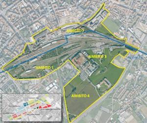 Bergamo – area da valorizzare Pianta principale