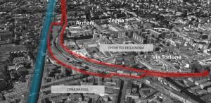 Milano – Porta Genova Pianta principale