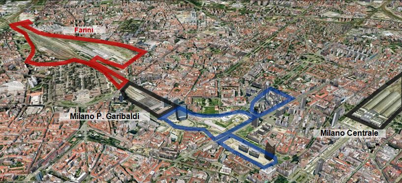 Milano farini development area ice italian trade agency - Milano porta garibaldi station ...