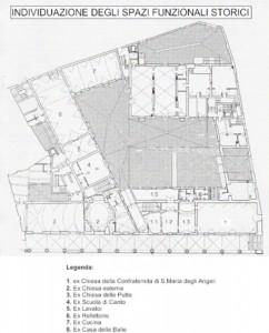 Bologna – Ex Ospedale degli Innocenti Floorplan