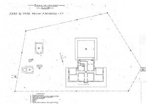Acireale (Catania) – Capo Mulini Lighthouse Floorplan