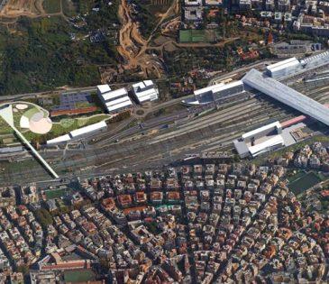 Roma Tiburtina – area for redevelopment