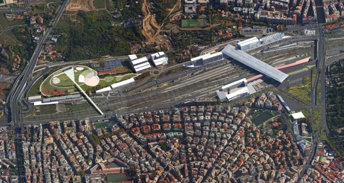 Roma Tiburtina – area for redevelopment