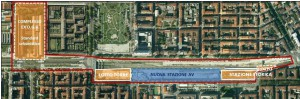 Torino Porta Susa Spina 2 – area for development Floorplan