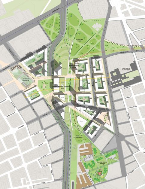 Torino Spina 4 – area for redevelopment