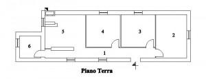 Vieste – Faro di Torre Preposti Pianta principale