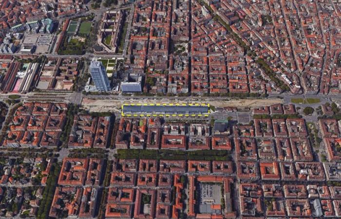 Torino Porta Susa – High-speed station floorplan
