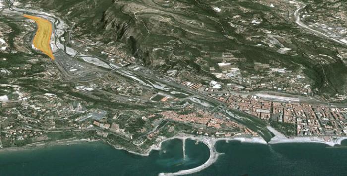 Ventimiglia – area (Parco Roja) Pianta principale
