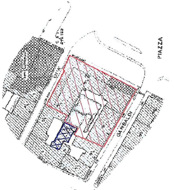 Torino – Piazza Castello floorplan