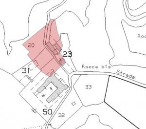 Viterbo – Roccarespampani Castle Floorplan