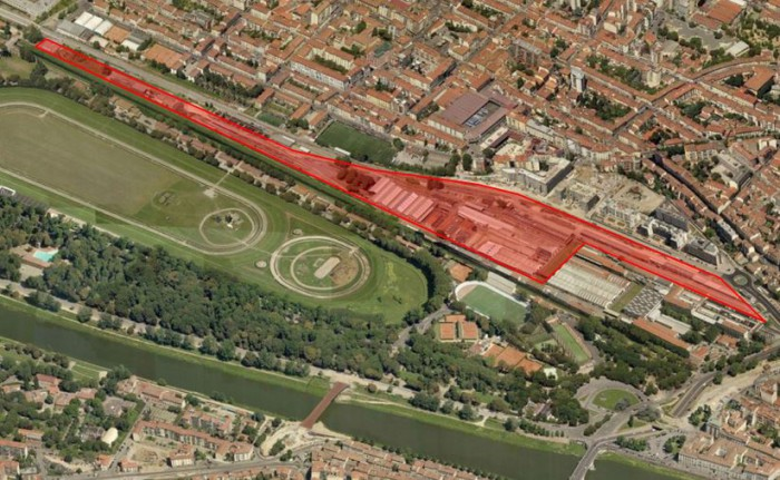 Firenze Porta al Prato – area for redevelopment floorplan