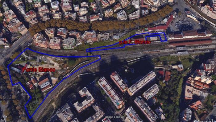 Roma Trastevere – area for redevelopment floorplan