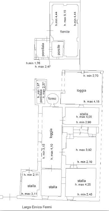 Firenze – Podere Colombaia floorplan