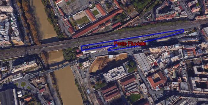 Roma Trastevere – area da valorizzare Pianta principale