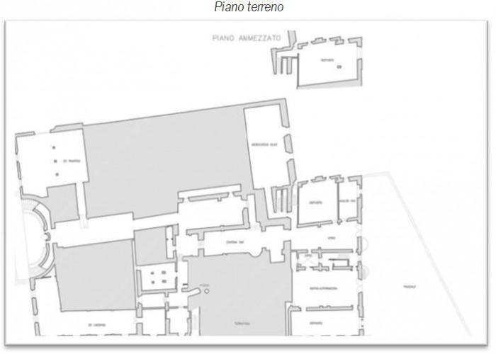 Firenze (Bagno a Ripoli) – Villa Mondeggi Pianta principale