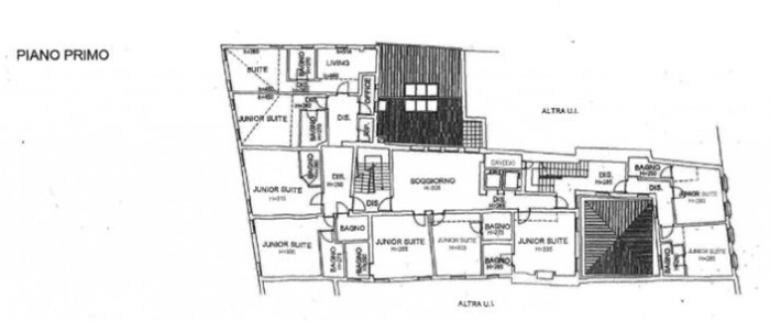 Venezia – Hotel Bella Venezia floorplan