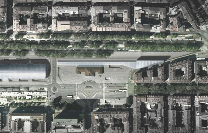 Torino Porta Susa Spina 2 – area for development floorplan