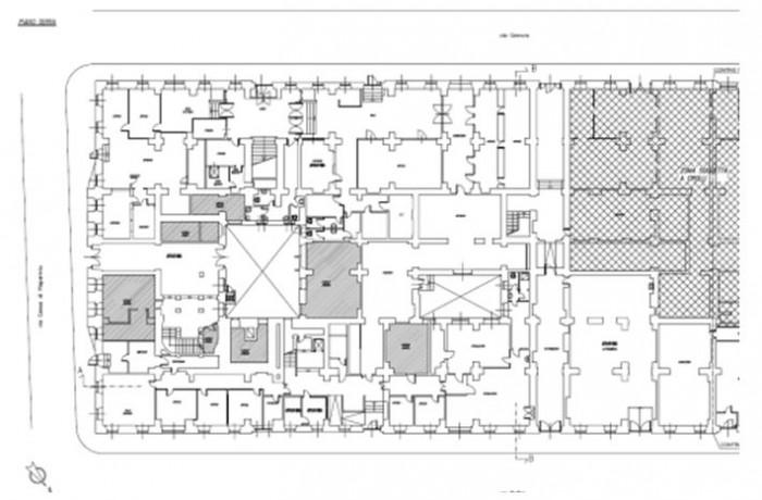 Trieste – Palazzo Carciotti floorplan