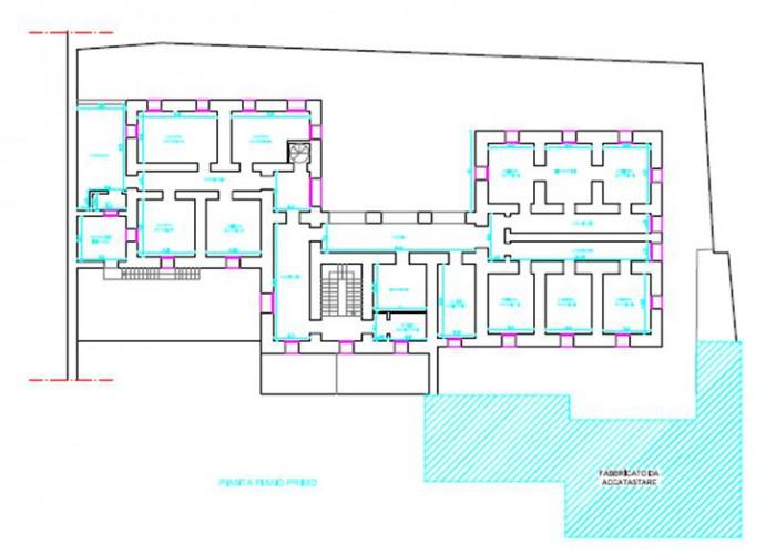 "Como – Former Prison ""S. Donnino"" floorplan"