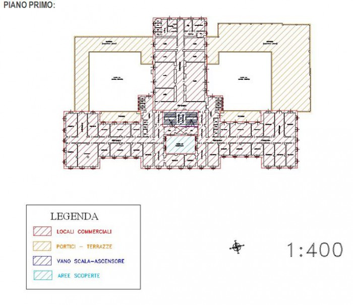 Aqui Terme (Alessandria) – Ex Stabilimento Termale Pianta principale