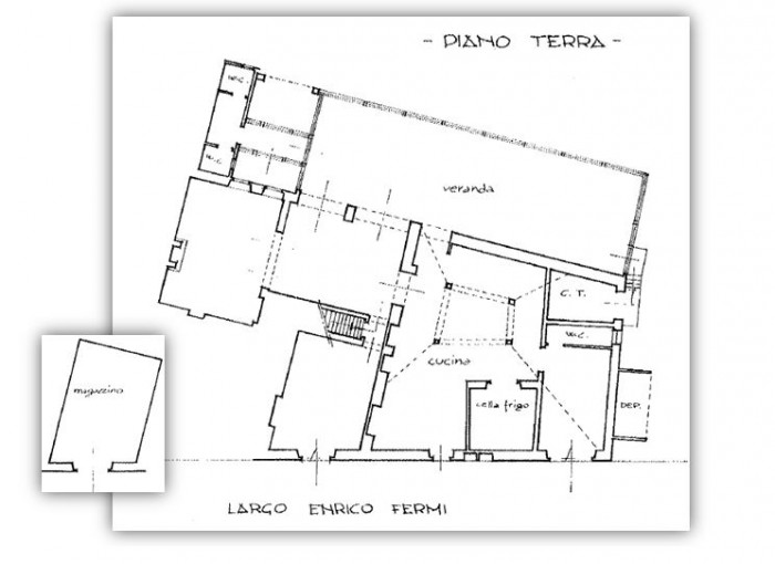 Firenze – Podere Colombaia floorplan