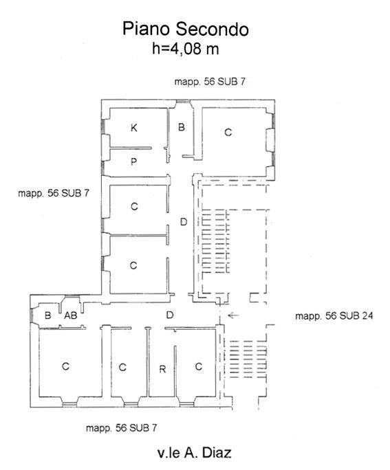 Cagliari – Villa Melis floorplan
