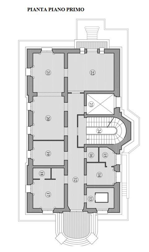 Roma – Villino Campos floorplan