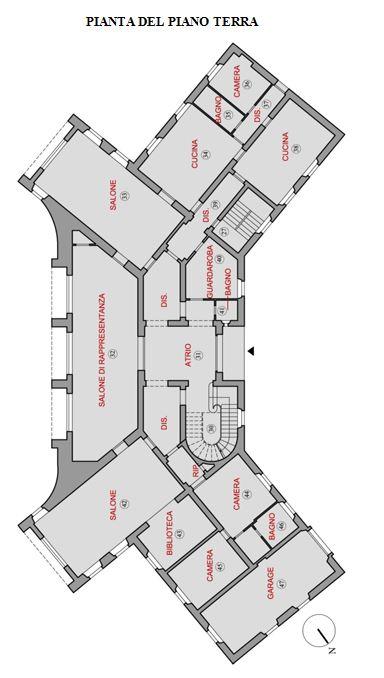 Napoli – Villa Nike floorplan