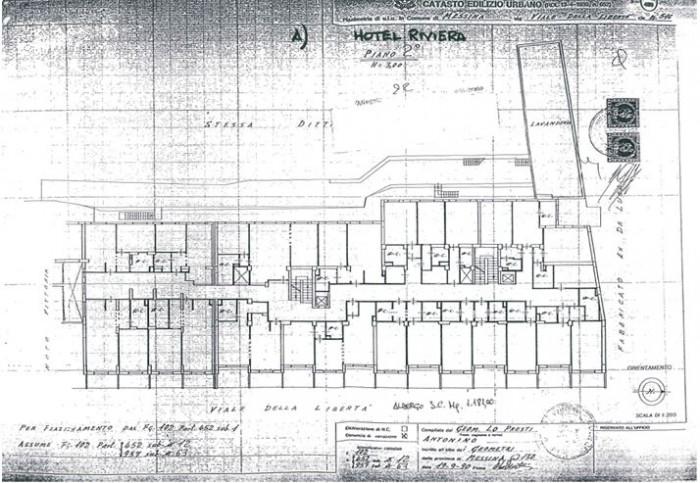 Messina – Hotel Riviera floorplan