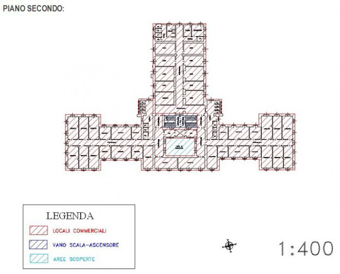Aqui Terme (Alessandria) – Former spa resort floorplan