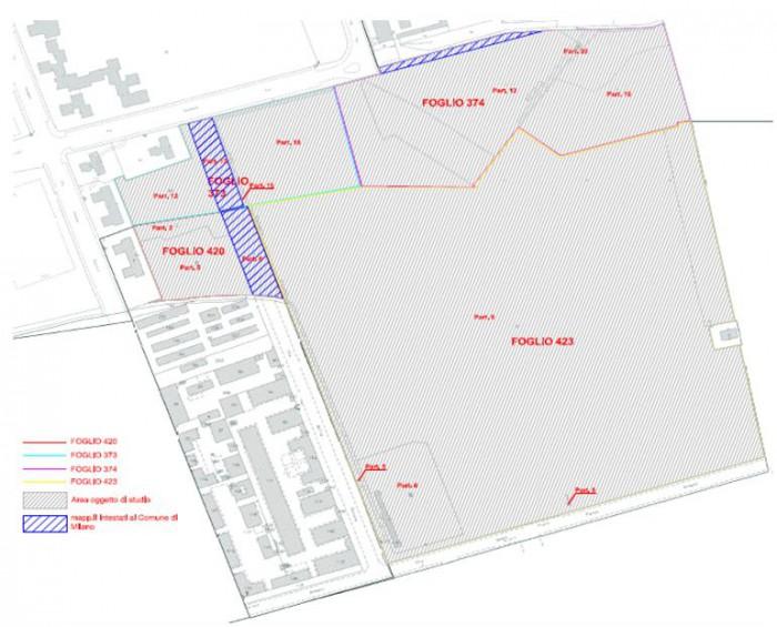 Milano – Piazza D'Armi area da valorizzare Pianta principale