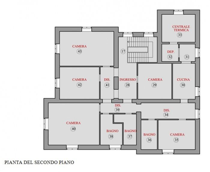 Firenze – Villa Banti floorplan