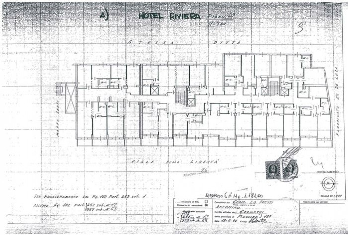 Messina – Hotel Riviera floorplan