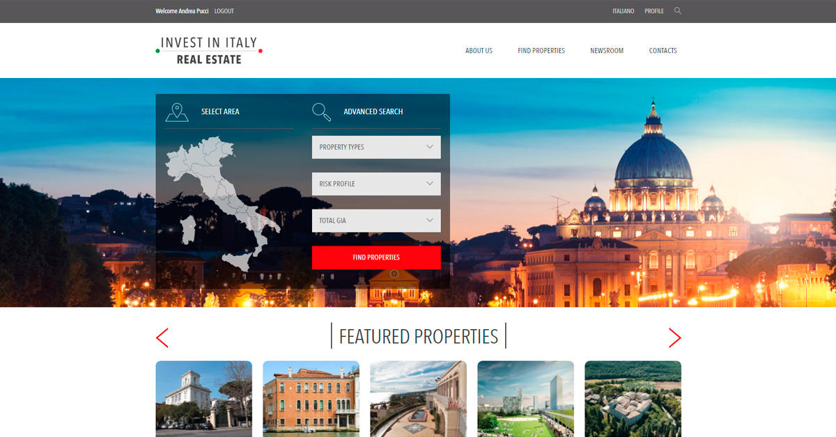Invest In Italy Real Estate - ICE Italian Trade Agency