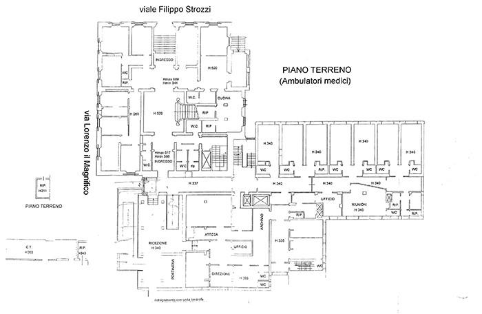 Firenze – Villa Basilewsky floorplan