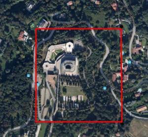 Torino – Villa Gualino Pianta principale