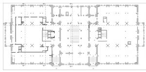 Roma – Palazzo degli Esami Floorplan