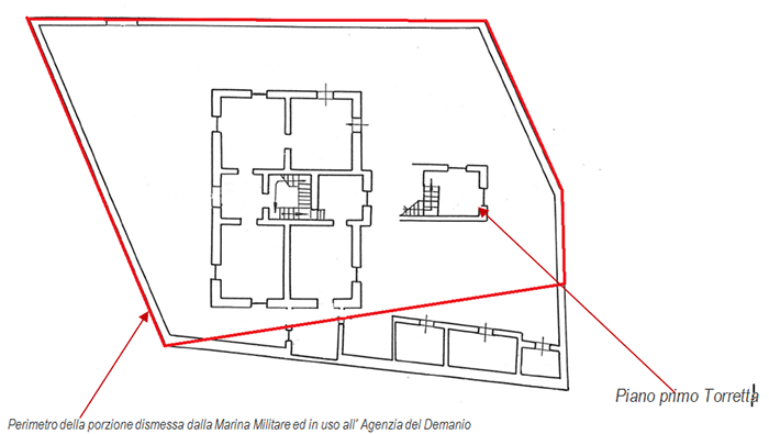 Catania – Riposto Lighthouse floorplan