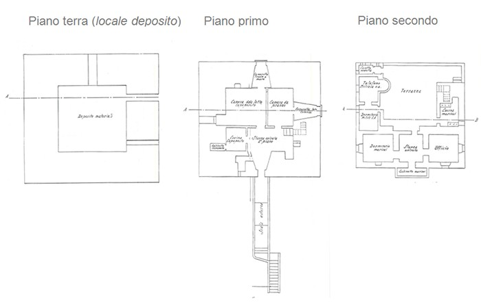 Salerno – Torre Angellara floorplan